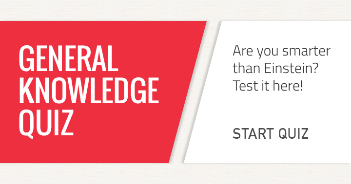 Are you smarter than Einstein? Test it here!
