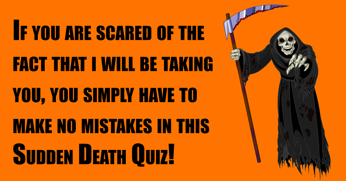 Can you escape from death?