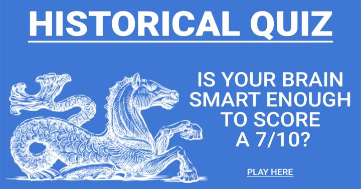 Extremely Hard History Quiz, most people score only 3 out of 10.
