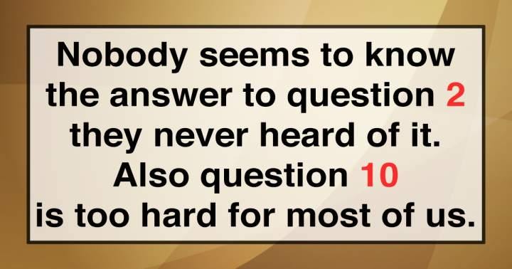 No human soul will be able to answer these questions