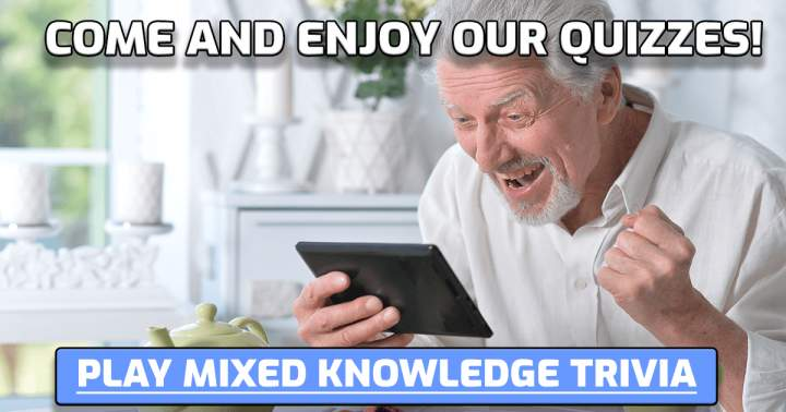 Play This Mixed Knowledge Trivia