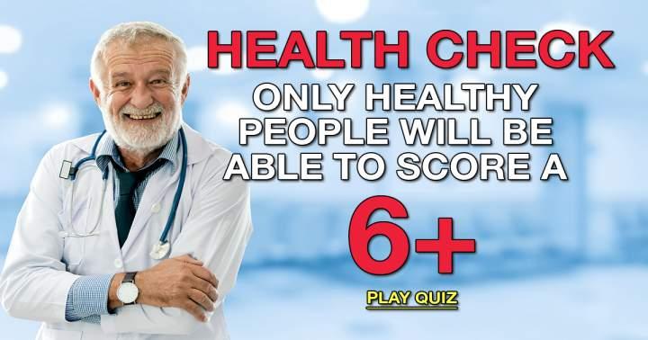 Health Check Medical Quiz