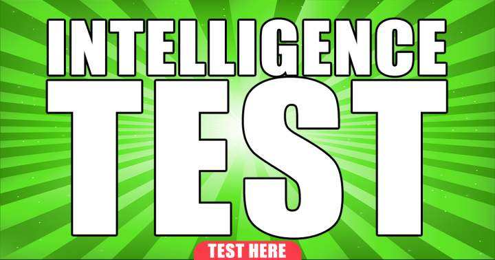 Fresh Intelligence Test