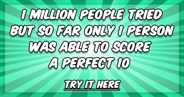 Can you beat 1 million quizzers?