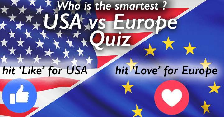 USA vs Europe general knowledge quiz