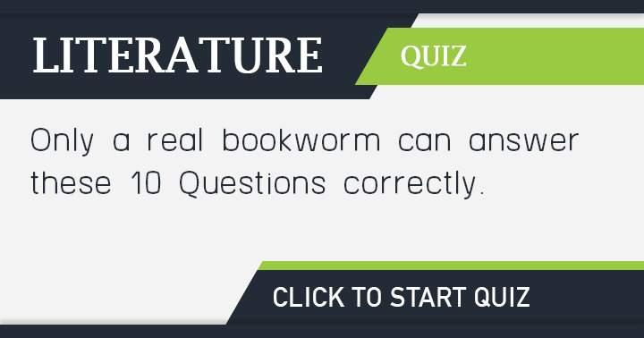 Bookworm quiz