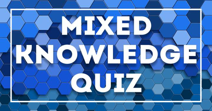 Extremely hard mixed knowledge quiz, how many did you answer correctly?