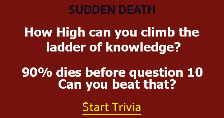 Climb the ladder of knowledge