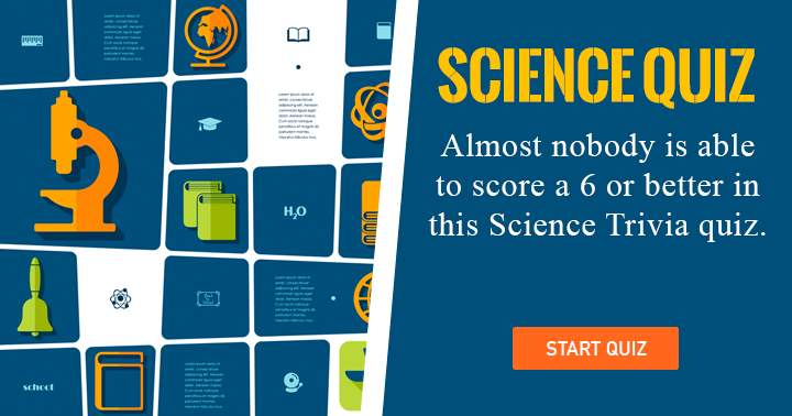 Are you a nobody? Find out in this Science quiz!