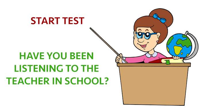 Only if you did paid attention at school you wil be able to answer these questions!